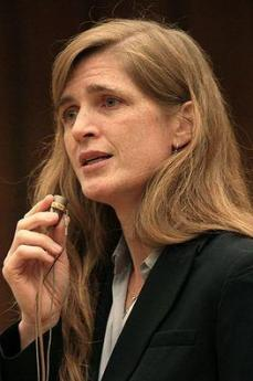 Samantha Power (Foto di Eric Bridiers)