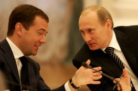Putin e Medvedev (Foto Presidential Press and Information Office)
