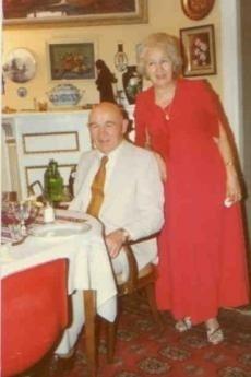 Grygory Grigorenko con Zinaida Grigorenko