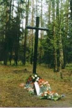 Un angolo del Cimitero Memoriale di Levashovo