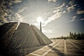 The memorial of the Armenian Genocide