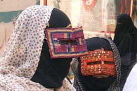 Donne iraniane con velo integrale (foto Wikicommons)