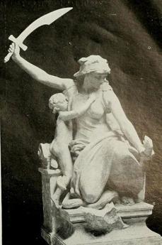 """Statua """"Il coraggio"""" (fonte Wikicommons, utente Hamo Thornycroft)"""