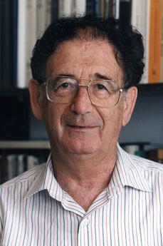 Lo storico israeliano Yehuda Bauer (foto di Tzahy Lerner)