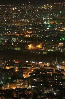 Damasco di notte (foto di drew)