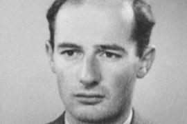 Passport photograph of Raoul Wallenberg