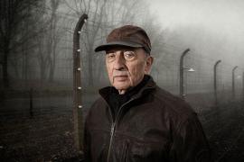 Il sopravvissuto a Buchenwald Israel Lazar, un personaggio del film (foto di kinderblock66thefilm.com)