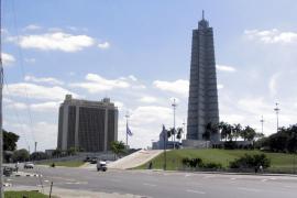 La piazza centrale di Cuba (foto di Hauptstadtbalkon)