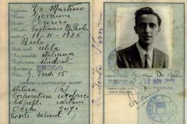 La carta d'identità falsa di Nissim Contente