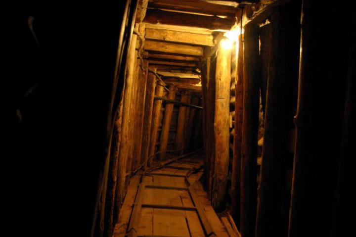 Il tunnel (Foto di Herman Beun)