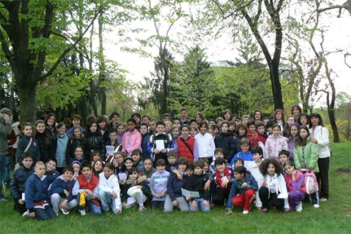 Una foto di gruppo