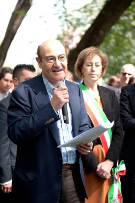 Il Presidente del Comitato Foresta dei Giusti Gabriele Nissim