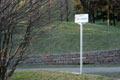 """Il viale di accesso lungo un percorso del """"Monte Stella"""""""