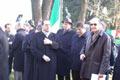 Gabriele Nissim con le autorità prima della cerimonia