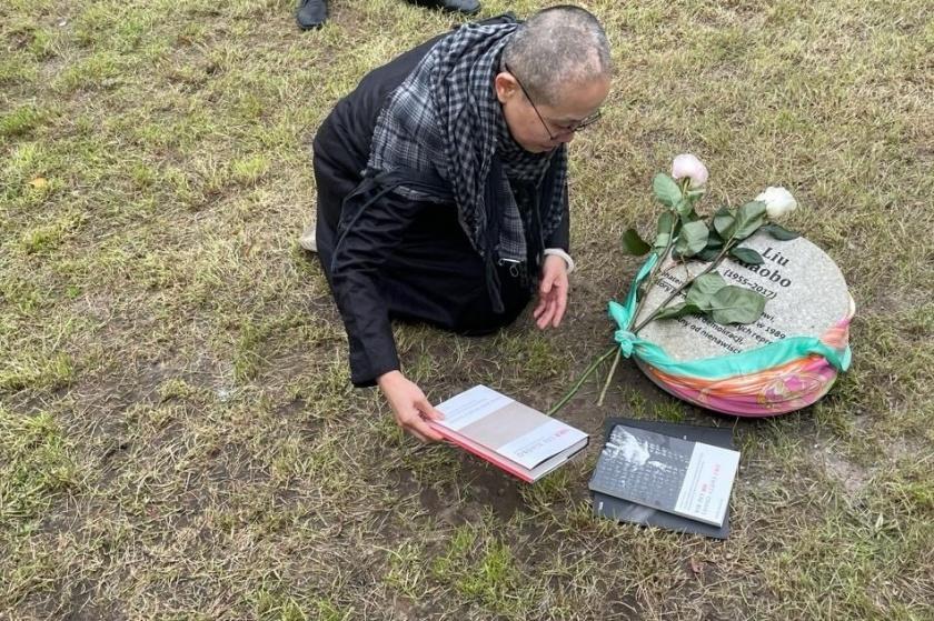 Cerimonia 2021 al Giardino dei Giusti di Varsavia