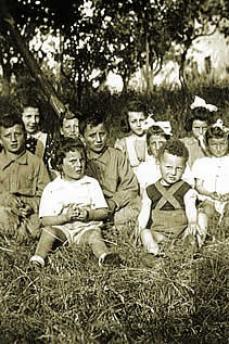 Bianca è la seconda da destra, nell'ultima fila (Foto di Bianca Schlesinger)